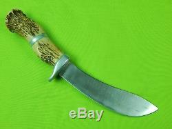 C. 1960 German J. A. Henckels Twinworks Solingen Skinner Hunting Customized Knife