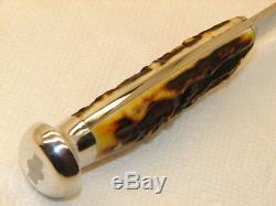 Case Xx, 1940-64, 5025-5 Hunting Sheath Knife, Super Pretty Stag, Nice & Nr Mint