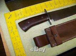 Camillus USA jerry fisk OVB bowie hunting fighting knife