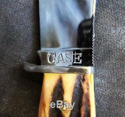 Case 4.5 Hunting Knife withStag & Sheath, 1940s