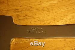Case XX 1940's fixed blade hunting knife Axe ax combo set sheath