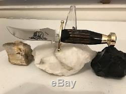 Case XX Buffalo handle Kodiak fixed blade hunting knife
