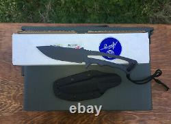 Chris Reeve Knives Bill Harsey Professional Soldier Knife Black