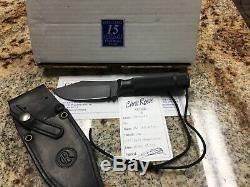 Chris Reeve Knives Skinner CRK Fixed hollow handle withbox, birth card, LNIB