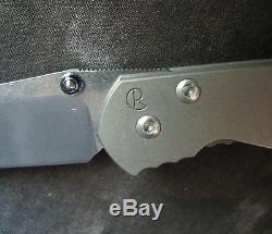 Chris Reeve'Sebenza' Folding Knife withTitanium