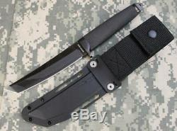 Cold Steel 13QBN 3V Master Tanto DLC Fixed Blade Knife with Secure-Ex Sheath 3-V