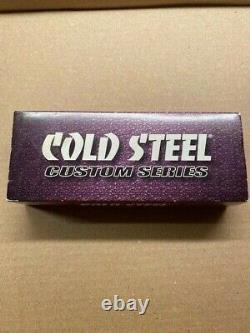 Cold Steel Black Sable Custom Series Knife 60BS