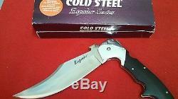 Cold Steel Espada XL Folding Knife 7.5in Blade 62NCX