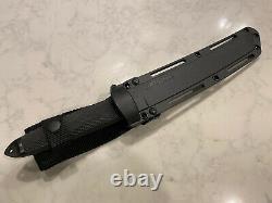 Cold Steel Magnum Tanto IX Nightfall Series Knife with Sheath