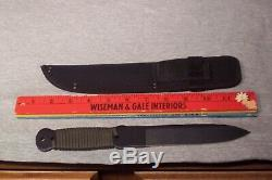 Cold Steel Throwing Knife Cord Wrapped Handle Never Used Made In The USA