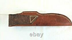 Custom Handmade Hunting Knife made by RON GASTON Woodruff South Carolina