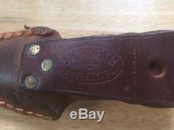Custom made 1988 Morseth Hunting Knife and Sheath