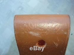 Custom made 1989 Morseth Hunting Knife and Sheath