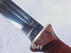 Cutco HUNTING KNIFE And SHEATH # 1069 Ca. 1960's