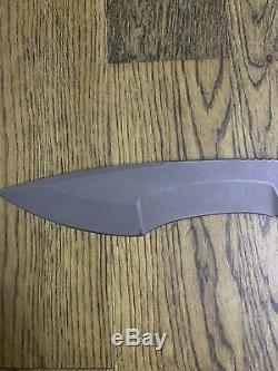 Dervish Knives Ursa Minor, Midtech, 3V Blade, Black G10, Kydex Sheath