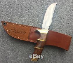 Early Harold Corby Custom Hunting Knife