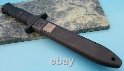 EICKHORN Solingen KM 2000 Military Black blade Tanto fixed Blade knife