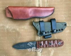 ESEE Knives Camp Lore PR-4 withtwo sheaths