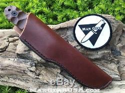 ESEE PR-4 Bushcraft, Woodcraft, Wood Lore, Hunting, Camping Survival Knife. PR4