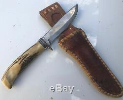 Early Harry Morseth Custom Knife Everett, Wa