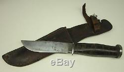 Early KA-BAR Olean N. Y. Hunting Fighting Skinning Utility Knife