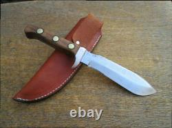 FINE Customized Vintage PIC Germany White Hunter-style Carbon Steel GUIDE Knife