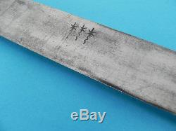 FINE EARLY GERMAN OR FRENCH HUNTING SWORD-SIDE KNIFE, c. 1780-1820'S