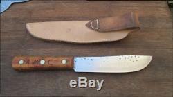 FINE Old Remington Carbon Steel Butcher-style Hunting/Skinning Knife RAZOR SHARP