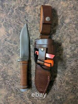 Fallkniven NL4 Northern Lights Frej Knife Custom Sheath (USED)