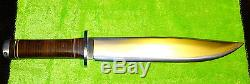 Fallkniven Thor NL1 Bowie Knife VG10 laminated blade 10 inch blade
