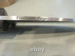 Fiddleback Forge Kephart Mid-Tech Field Fixed Blade Knife S25VN with Sheath