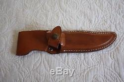 Flawless WESTMARK hunting knife, Model 702 with original sheath