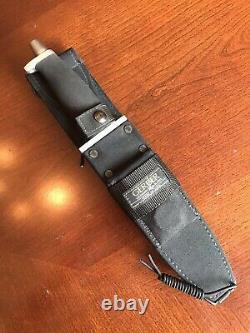 GERBER BMF Model 05928 w Saw Teeth Hunting/Survival Knife 9 Blade EXC+++