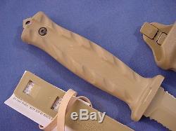 Gerber G0523 De Facto Partially Serrated S30v Blade Steel Fixed Blade Knife
