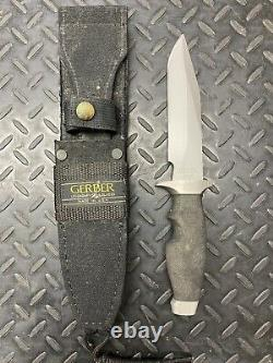 GERBER Original LMF 1980s Tactical Knife W Original Sheath