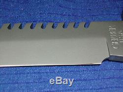 Gerber BMF USA EARLY Saw back combat survival fighting knife, Sheath, Silva comp