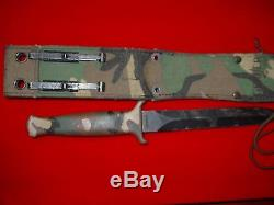 Gerber USA Guardian Camo Very Collectable Hunting/Fighting Knife withSheath A1464T