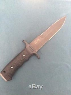 Gerber USA Watson Harsey Silver Trident Combat Fighting Bowie Hunt Knife In Box