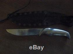 Gerber original Magnum vintage 1950s fixed blade alum/SS hunting knife