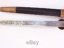 German Dagger Prussian Hunting Forestry Cutlass Sword Knife! WEYERSBERG