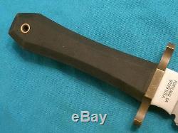 Huge Vintage Gerber USA Coffin Hunting Skinning Survival Bowie Knife Knives Old