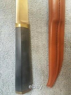 Hackman Finland Tapio Wirkkala, Hunting Knife. Excellent Condition