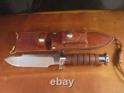 Hackman of Finland Vietnam Era Survival Knife