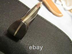 Handmade Knife. Dan Owens Semi Skinner. Unused. Excellent