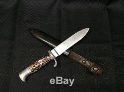 Hitler Youth Knife Scout with Scabard-FREE SHIPPING! -196954-1D