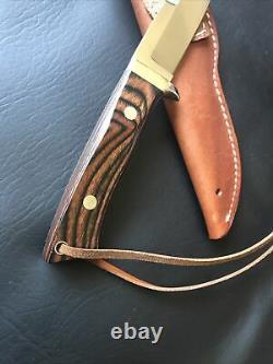 Ichiro Hattori H-700 Hunting Knife Vintage Rare Unused Seki Japan Parker Custom