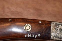 J. D. Clay fixed blade custom hunting knife