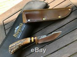 James Behring knife, Stainless Woodcraft (RARE)