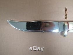 Jim Ort OZ Custom Hunter/Skinner Knife Used