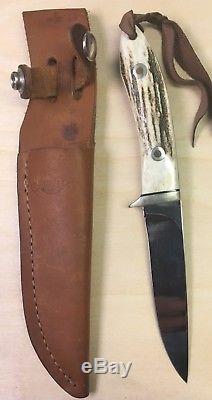 Junglee Hunting Knife Seki Japan Tak Fukuta